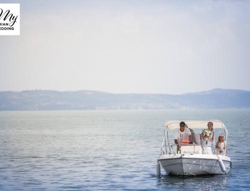 Italian weddings on the Umbrian Trasimeno Lake and Polvese Isle